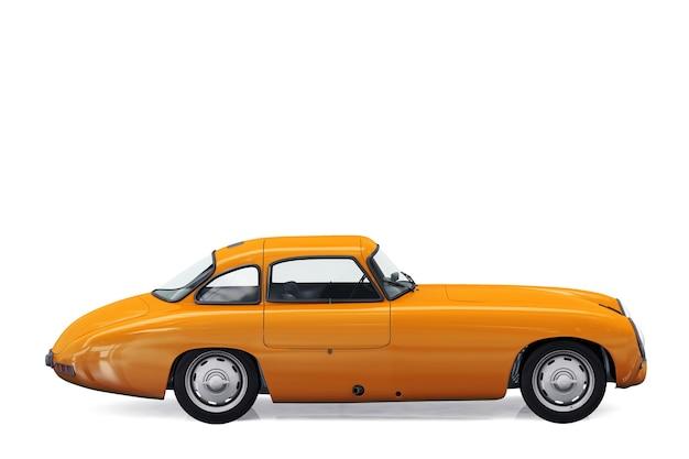 Mockup di auto coupé retrò 1952