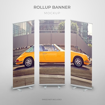 Rollup standee mockup