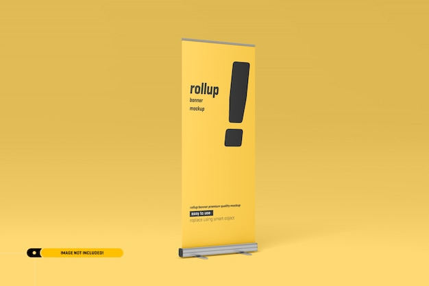 Rollup o x-banner mockup