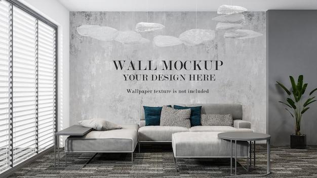 Mockup di pareti della stanza per le tue trame