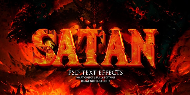 Effetto testo satana