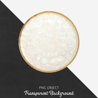 Piatto da portata su trasparente Psd Premium