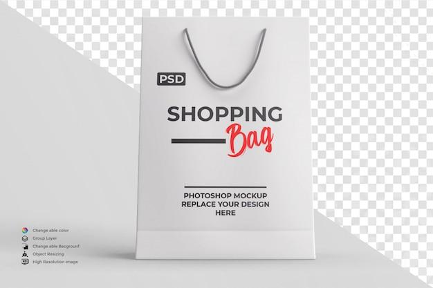 Colore modificabile del mockup della borsa della spesa