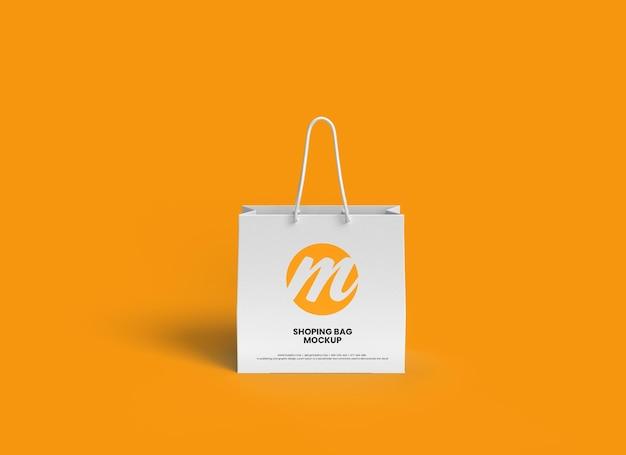 Design del modello di borsa della spesa o sacchetto di carta