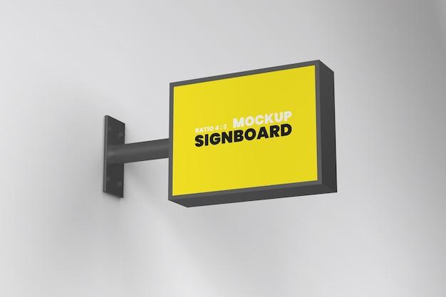 Mockup di cartello