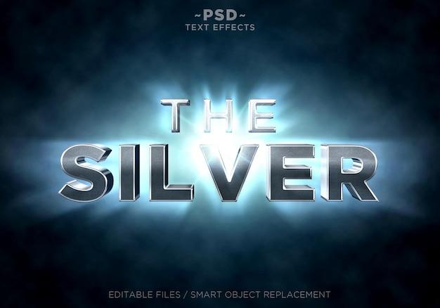 Gli effetti dei raggi di luce silver shine