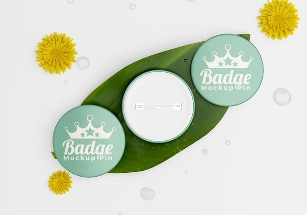 Modello di badge semplice