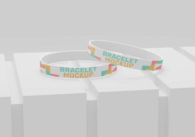 Modello di braccialetto semplice