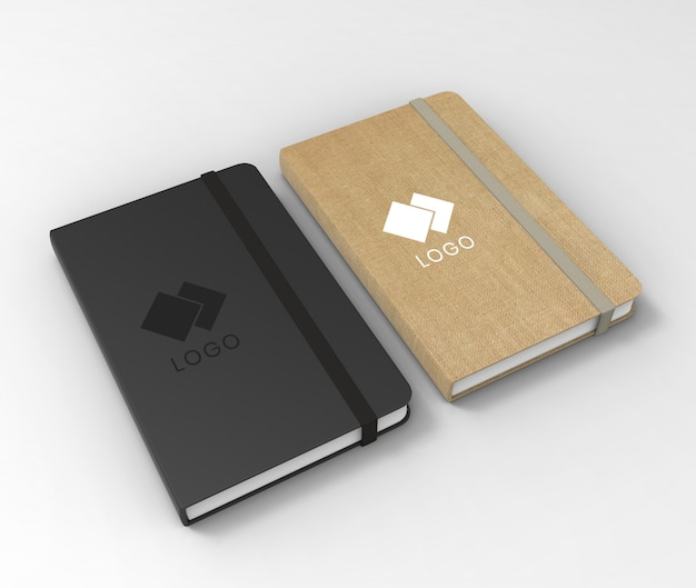 Mockup di sketchbook