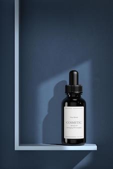 Mockup di prodotti cosmetici premium idratanti per la cura della pelle