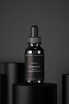 Rendering di prodotti cosmetici idratanti per la cura della pelle