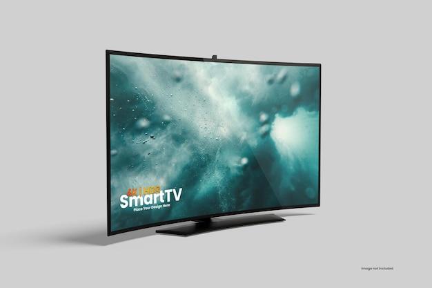 Elegante mockup tv