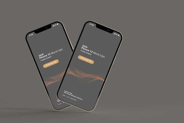 Mockup di smartphone