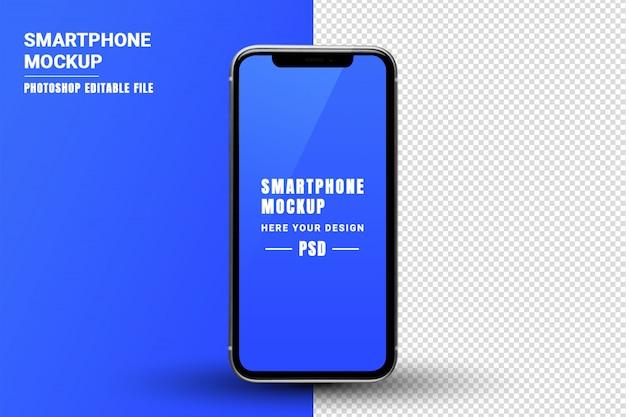 Mockup dello schermo del telefono intelligente