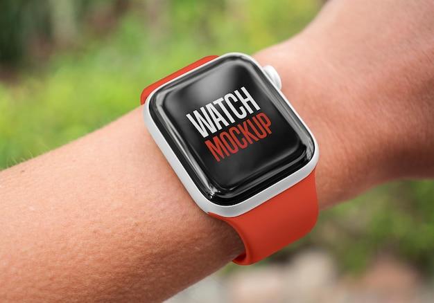 Mockup di orologio intelligente