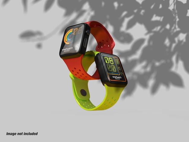 Smart watch screen per ui ux mockup