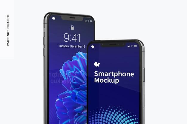 Mockup max di smartphone