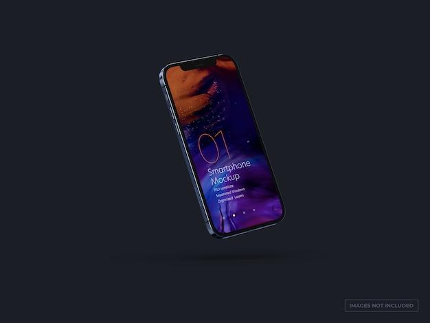 Smartphone mockup per i disegni dell'interfaccia utente