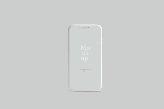 Mockup di presentazione dello smartphone