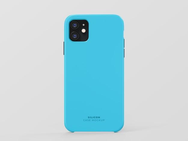 Custodia in silicone per smartphone
