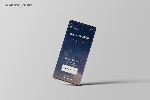 Smartphone ultra mockup