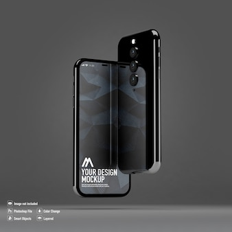 Mockup di smartphone isolato