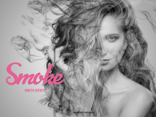 Effetto foto a dispersione di fumo