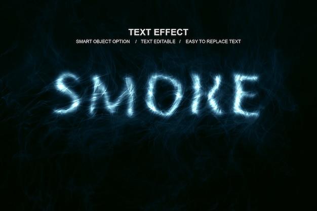 Effetto testo fumo