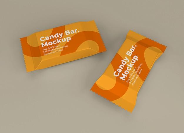 Modello di pacchetto snack bar
