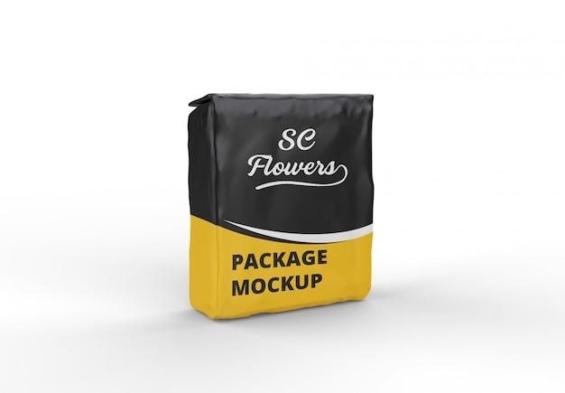Mockup del pacchetto snack