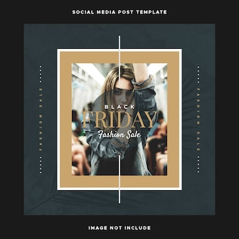 Social media design instagram temlpate