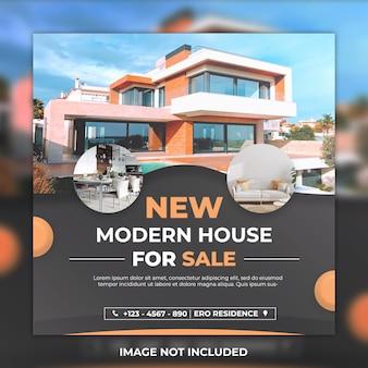 Social media post house in vendita e post instagram