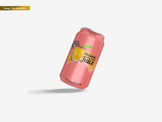 Modello di lattina di soda