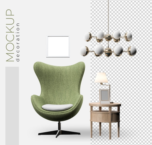 Decorazione divano per ufficio e casa