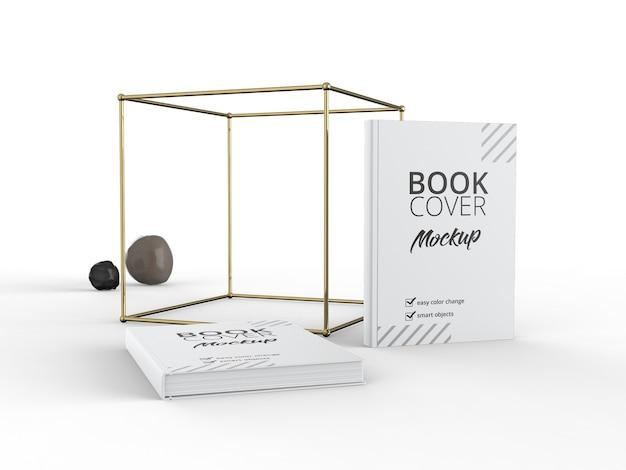 Mockup di libro a copertina morbida