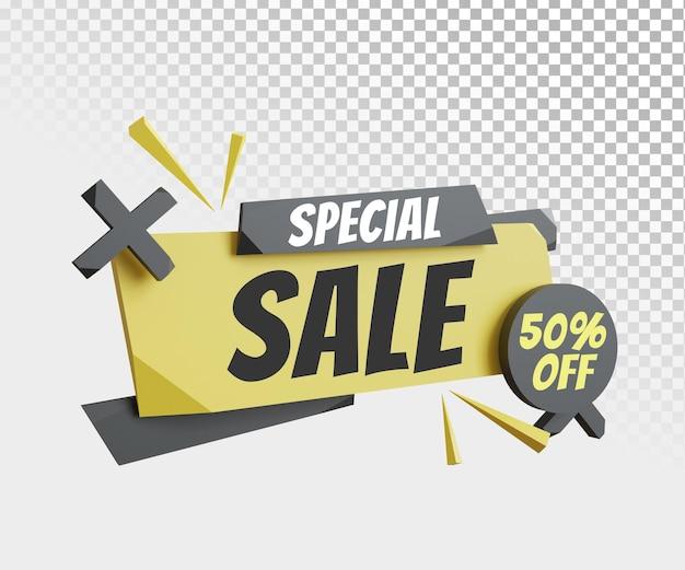 Modello di banner di vendita speciale