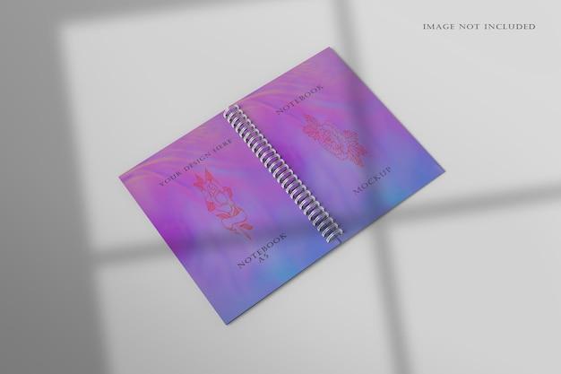 Modello di quaderno a spirale