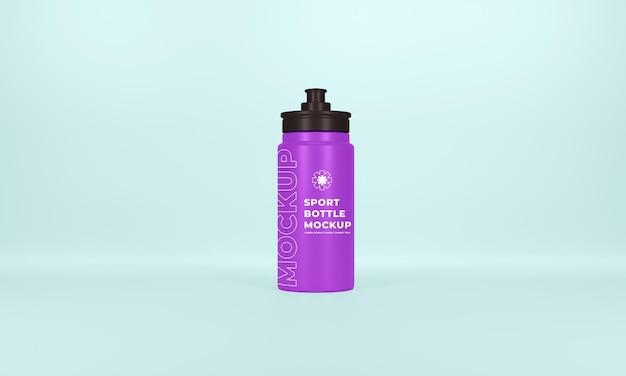 Mockup di bottiglia sportiva premium psd