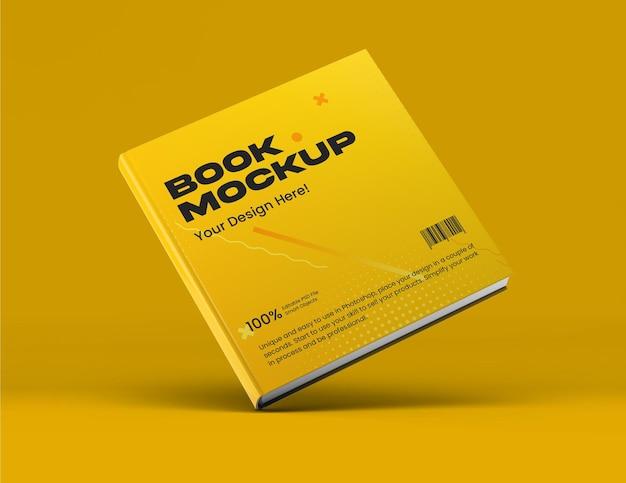 Mockup di libri quadrati