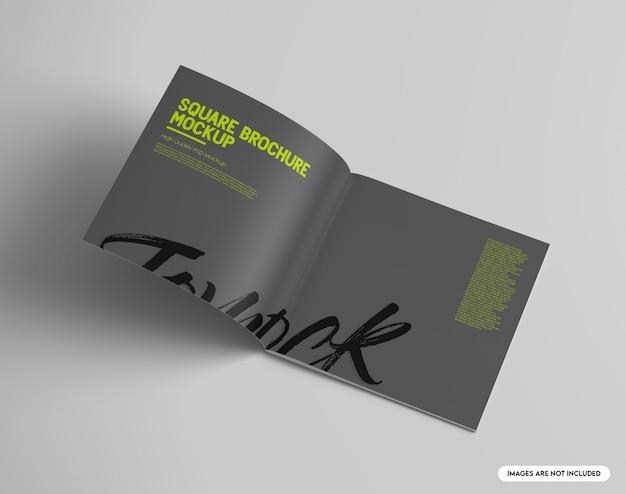 Brochure quadrata mockup