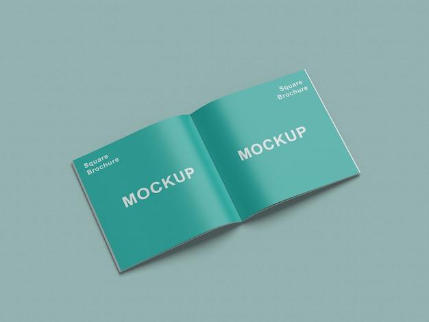 Mockup rivista quadrata