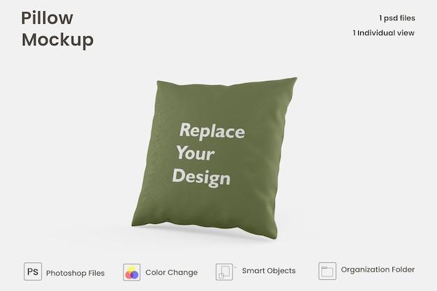 Design mockup cuscino quadrato psd premium