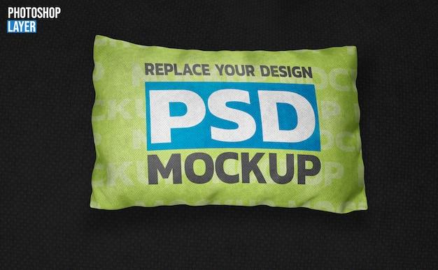 Mockup di cuscino quadrato