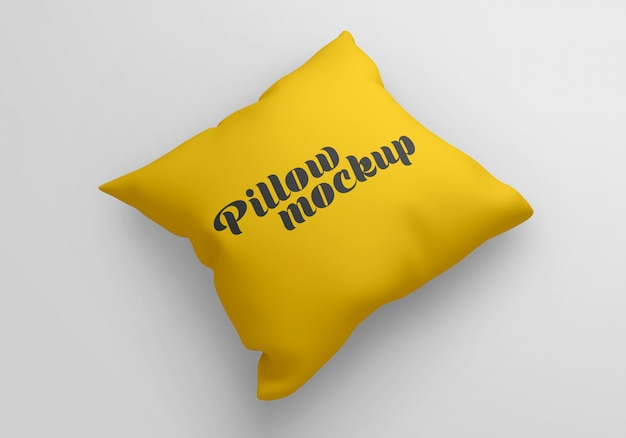 Mockup cuscino quadrato