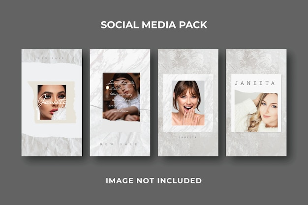 Modello quadrato per social media post story instagram