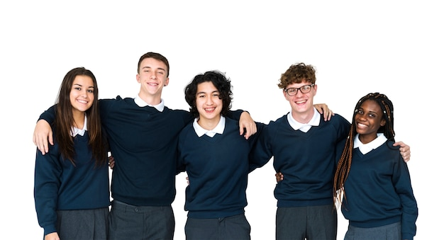 Amici accademici della scuola di formazione degli studenti