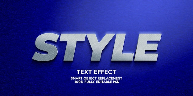 Modello di effetto di testo in stile