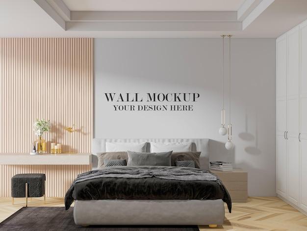 Elegante modello di parete della camera da letto