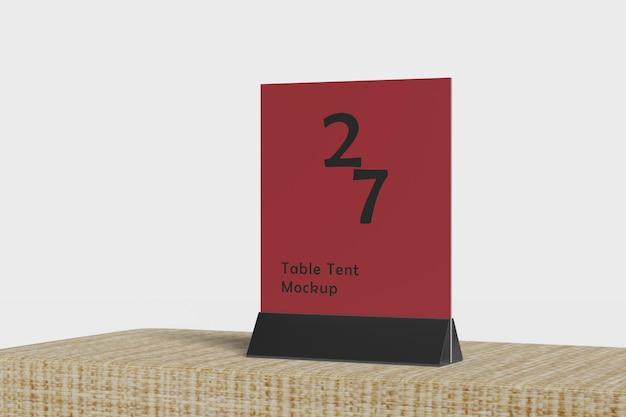 Tenda da tavolo mockup