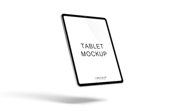 Mockup del dispositivo tablet
